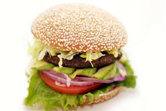 Riverside, CA: Veggie Burger!