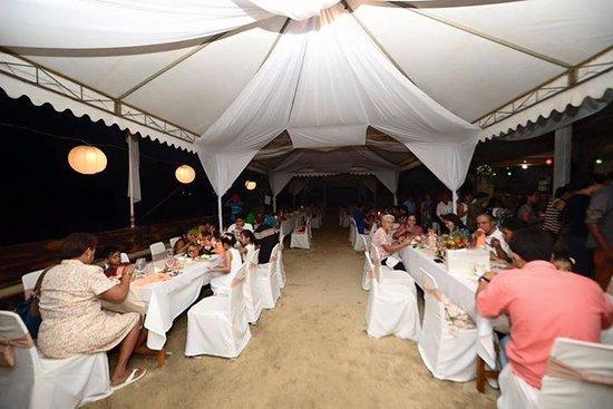 Calayucay, Filippijnen: Costa Palmera Catering Services at 150pax set up.