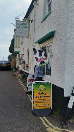 Budleigh Salterton, UK: A slice of lyme