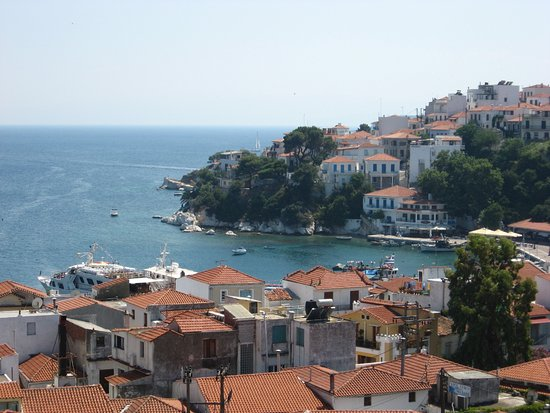 Skiathos Town, Yunanistan: foto