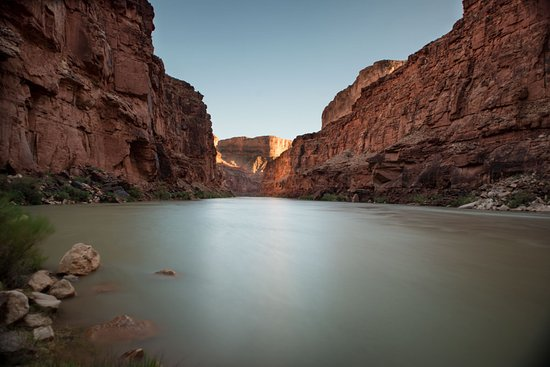 Outdoors Unlimited Grand Canyon Rafting: Colorado River in from Evening Camp