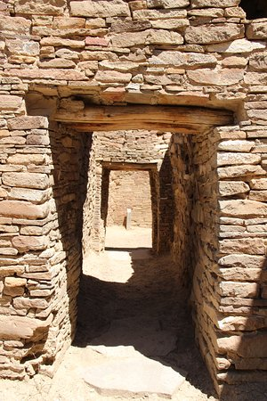 Farmington, Nuevo México: Pueblo Bonito interior