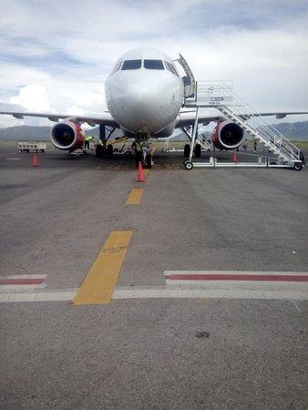 Apodaca, Mexico: Pista de aterrizaje