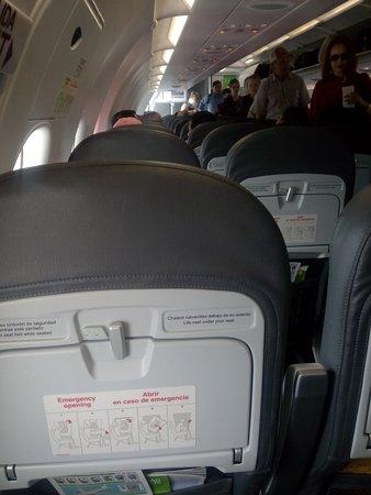 Apodaca, Mexico: Interior del avion