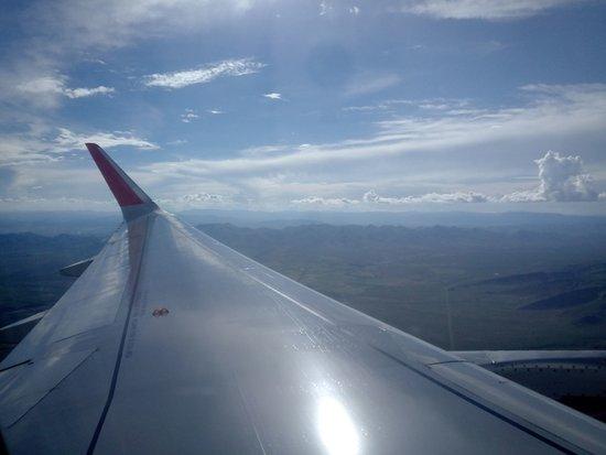 Apodaca, Mexico: Durante el vuelo