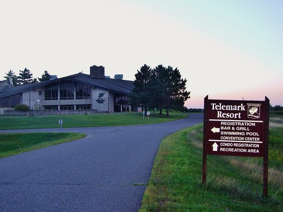 Telemark Resort & Convention Center: Some signs are misleading, none of this is true