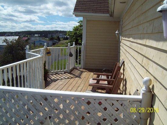Louisbourg, Καναδάς: balcony