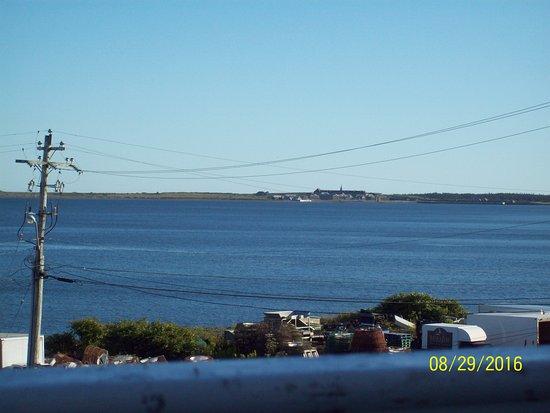 fortress Louisbourg on far side