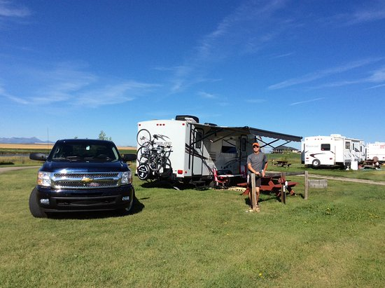 Cardston, Canadá: Camping