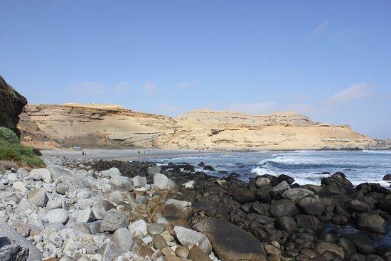 Bahia Inglesa, Chili: Camino de trekking, a poco de llegar a Verde Vertigo