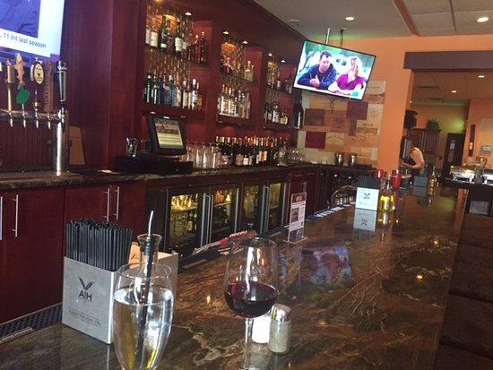 Chester Springs, Pensilvania: Bar at Limoncello!