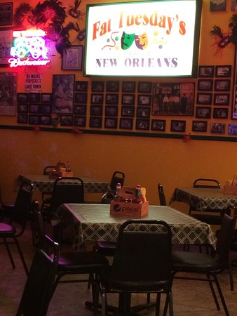 Ridgeland, MS: Trying Fat Tuesday's for the very first time