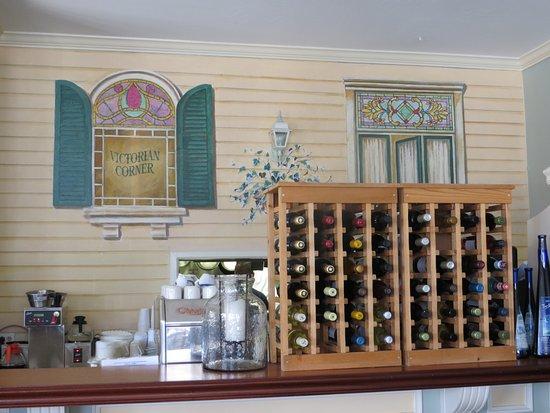 Victorian Corner: Counter view