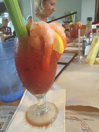 Buzzards Bay, MA: Awesome Bloody Mary appetizer!!!