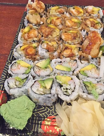 East Hampton, NY: California Roll & Shrimp Tempura Roll
