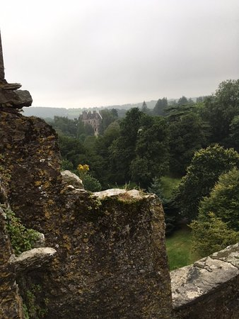 Blarney, Irlanda: view from atop of the castle