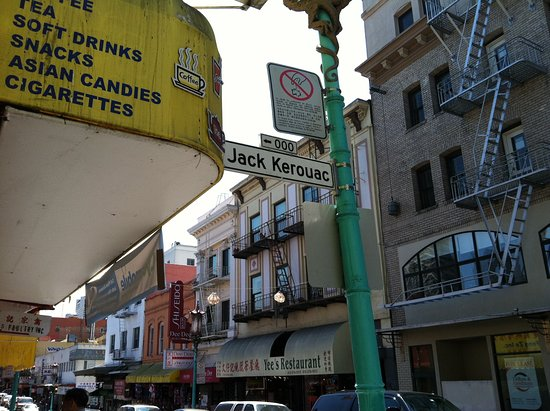 City Lights Booksellers: Jack Kerouac Alley