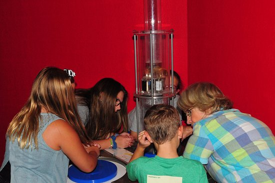 Science Museum Oklahoma : OK - so how does this work...