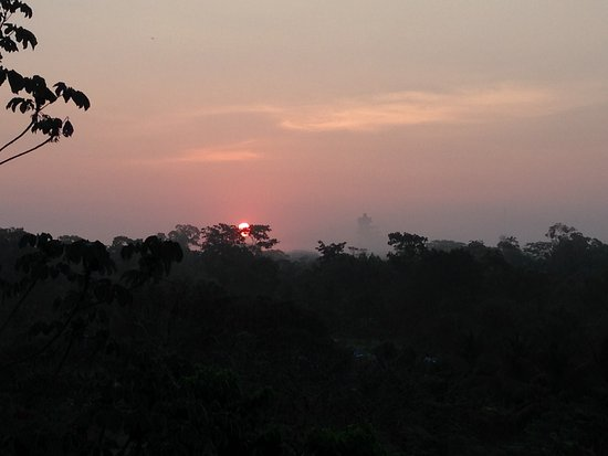 Belmopan, Μπελίζ: Sunrise from the veranda