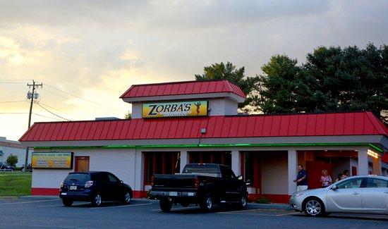 Conover, Carolina del Norte: Traditional Southern US Greek Restaurant