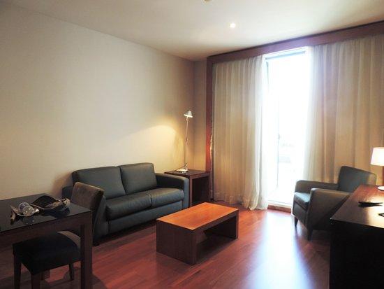 Eurostars Lisboa Parque: Our room