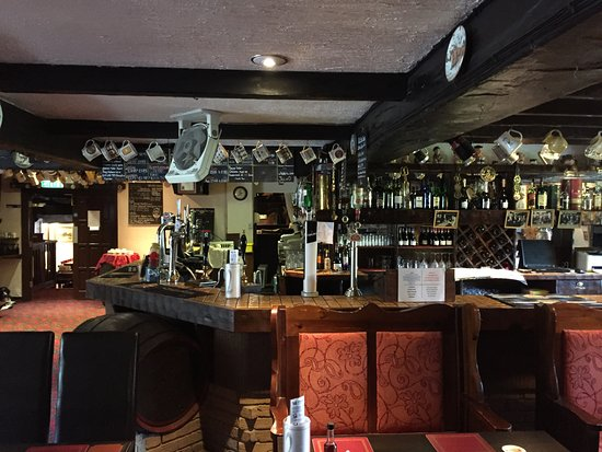 Awsworth, UK: The bar