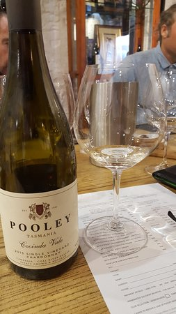 Richmond, Australia: Can't beat a good Pooley wine!!