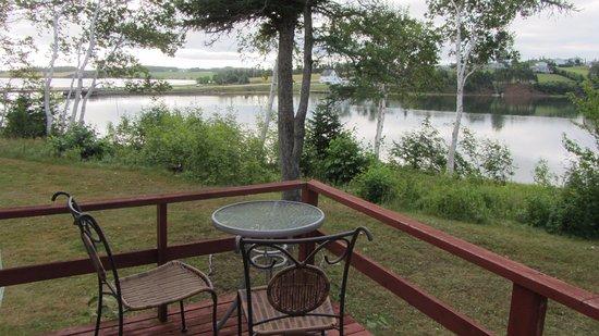 Rustico, Kanada: Magnifique vue de notre balcon,