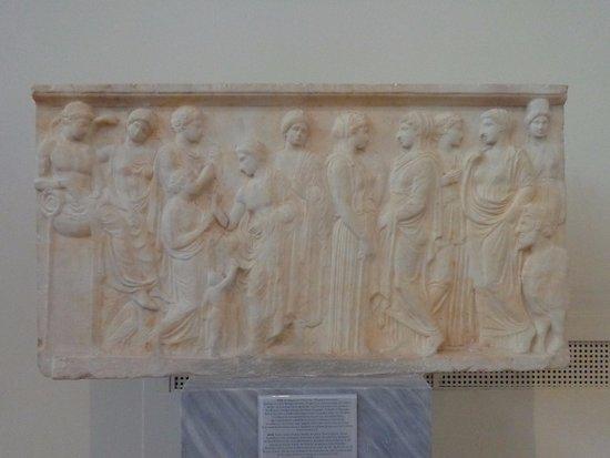 votive relief 410 bce