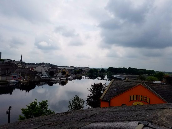 Shannon River in downtown Athlone