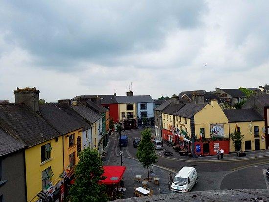 Street scene downtown Athlone