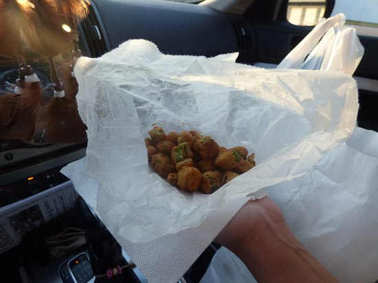 Quality Seafood Market: Fried Okra and it was good!
