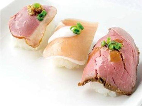 Kasugai, Japón: 肉ずし