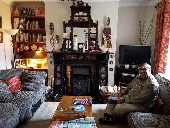 Dunfanaghy, أيرلندا: Sitting area