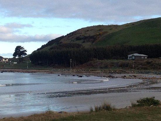 Southland Region, Nowa Zelandia: Colac Bay inlet
