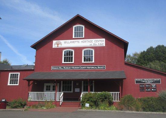 Salem, Oregon: Willamette Heritage Center, Salem, Oregon