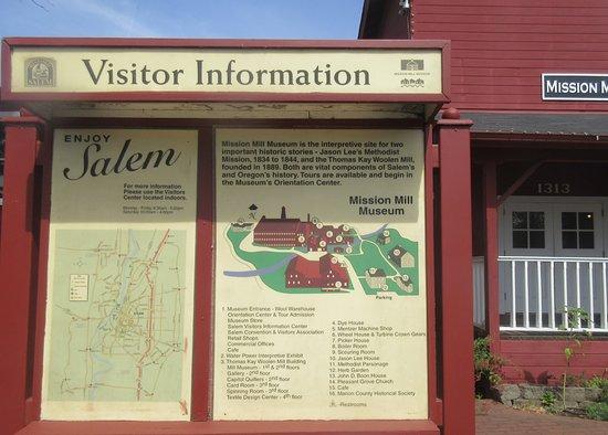 Σάλεμ, Όρεγκον: Visitor Information, Willamette Heritage Center, Salem, Oregon