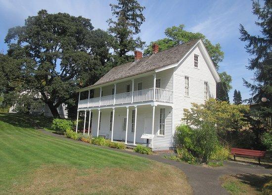 Σάλεμ, Όρεγκον: Jason Lee House, Willamette Heritage Center, Salem, Oregon