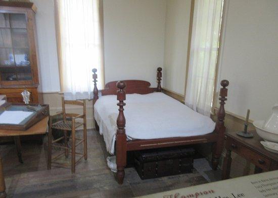 Σάλεμ, Όρεγκον: Bed, Jason Lee House, Willamette Heritage Center, Salem, Oregon