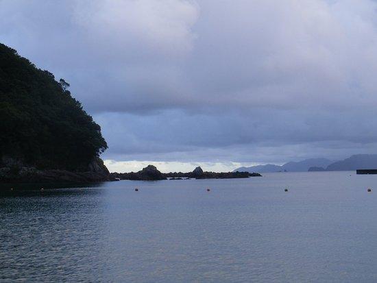 Kihoku-cho, Japón: ホテル裏のビーチから