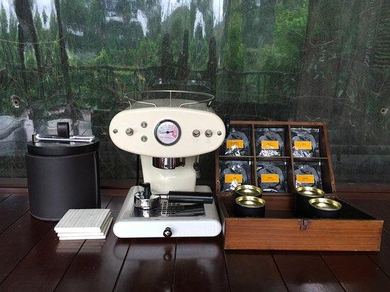 An Lam Ninh Van Bay Villas: Tea & coffee making facilities. Best selection of local grown tea and coffee