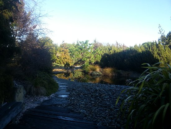 Nelson, Selandia Baru: The path towards the pool