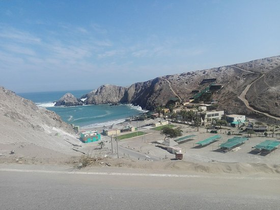 Mollendo, Perú: Caleta vista desde arriba