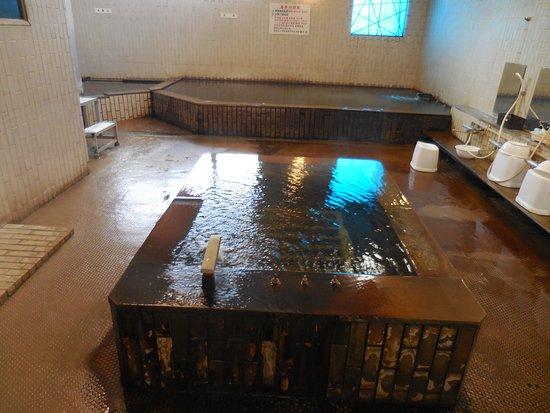 Showa-cho, Япония: ホテル内天然温泉