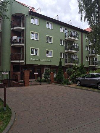 Dziwnowek, Poland: Widok z ulicy