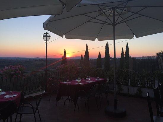Montespertoli, Italia: August 2016