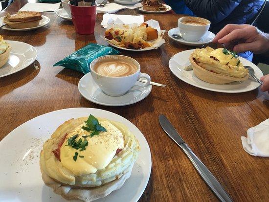 Wentworth Falls, Australie : The award winning Breakfast Pie!