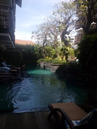 The Oasis Lagoon Sanur: View from our Lagoon Access Pool room