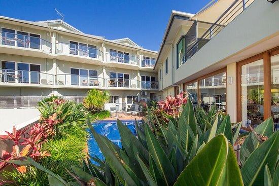 Yamba, Australie : Queen St view