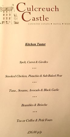 Fintry, UK: Finest food & wonderful staff
